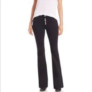 ❌SOLD❌J Brand Black Maria Exposed Button Jeans